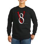V8 R&W Long Sleeve Dark T-Shirt