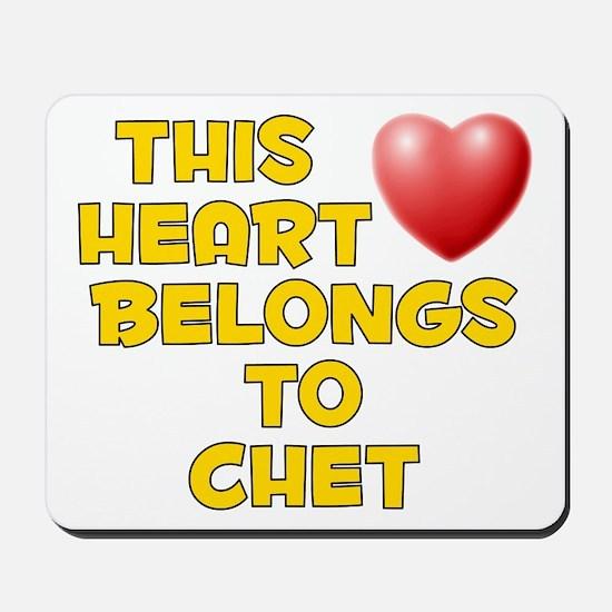 This Heart: Chet (D) Mousepad