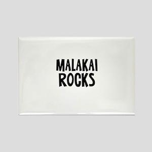 Malakai Rocks Rectangle Magnet