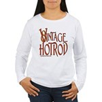 Vintage Hotrod Women's Long Sleeve T-Shirt