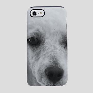Poodle dog iPhone 8/7 Tough Case