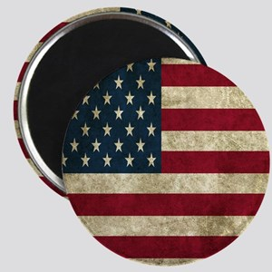 USA Flag - Grunge Magnets
