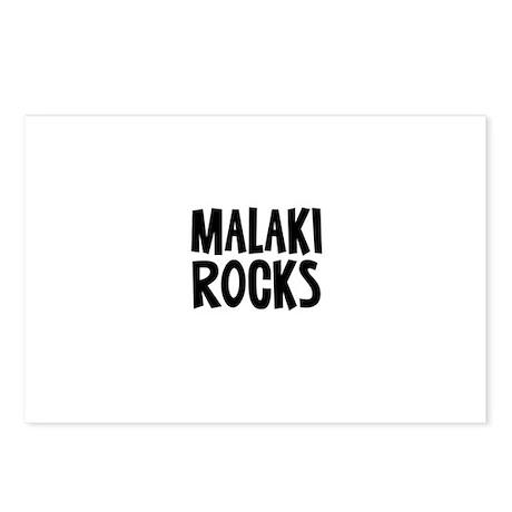 Malaki Rocks Postcards (Package of 8)