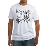 Brother of the Groom Graffiti Fitted T-Shirt
