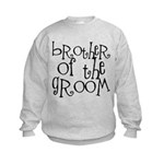 Brother of the Groom Graffiti Kids Sweatshirt