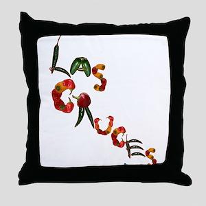 Las Cruces Throw Pillow