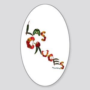 Las Cruces Oval Sticker