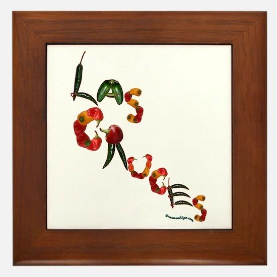 Las Cruces Framed Tile