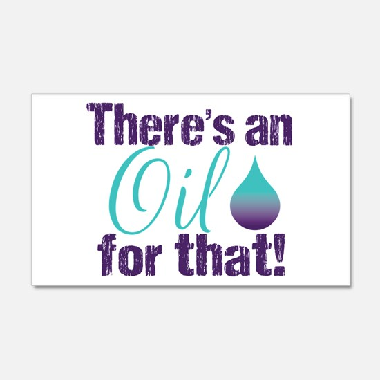 Oil for that blteal Wall Decal