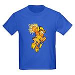 Color Tigrikorn Power Punch Kids Dark T-Shirt