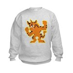 Power Flex Tigrikorn Kids Sweatshirt