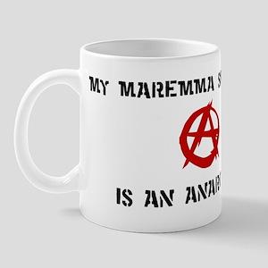 Maremma Sheepdog anarchist Mug