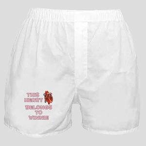 This Heart: Winnie (C) Boxer Shorts