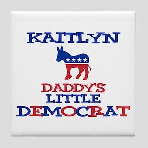 Kaitlyn - Daddy's Little Demo Tile Coaster