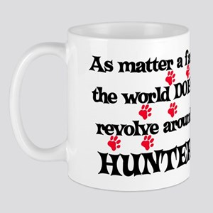 The World Revolves Around Hun Mug