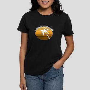 British Virgin Islands Women's Dark T-Shirt