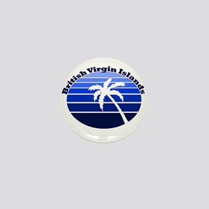 British Virgin Islands Mini Button