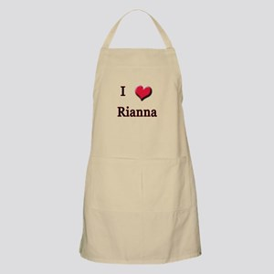 I Love (Heart) Rianna BBQ Apron