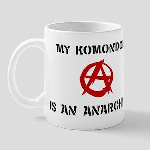 Komondor anarchist Mug