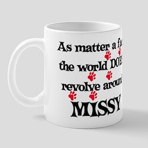 The World Revolves Around Mis Mug