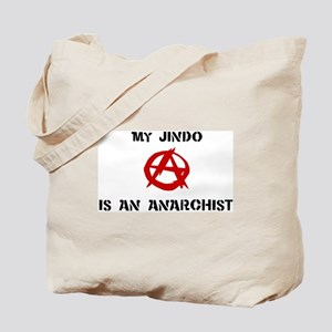 Jindo anarchist Tote Bag