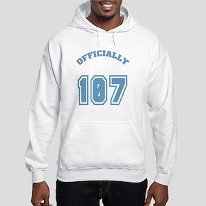 Officially 107 Hooded Sweatshirt