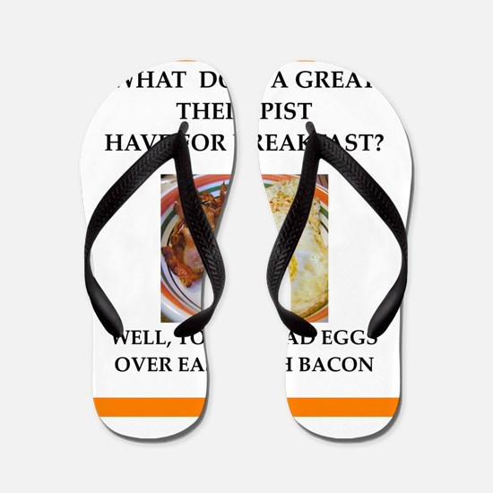 Profession joke Flip Flops