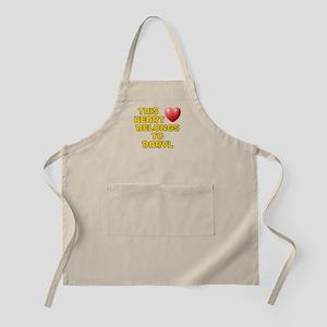 This Heart: Daryl (D) BBQ Apron