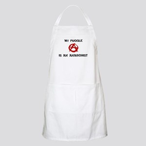 Puggle anarchist BBQ Apron