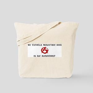 Estrela Mountain Dog anarchis Tote Bag