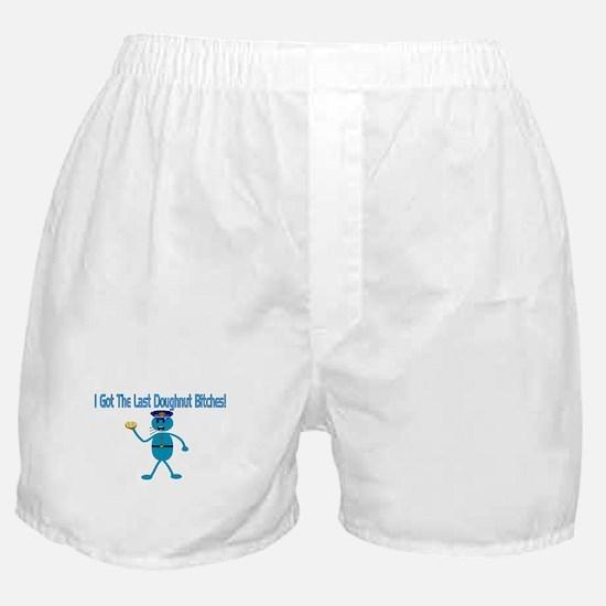Last Doughnut Boxer Shorts