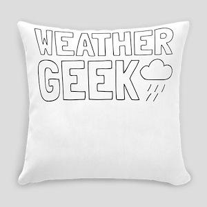 Weather Geek Everyday Pillow