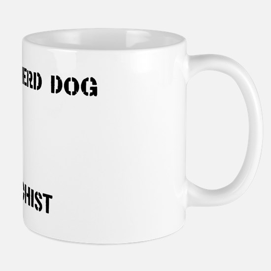 Dutch Shepherd Dog anarchist Mug