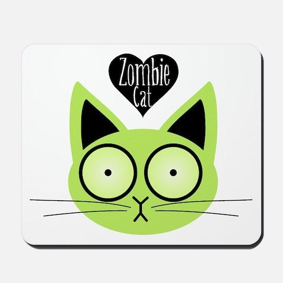 Zombie Cat Mousepad