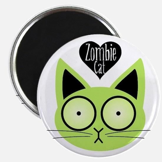 Zombie Cat Magnet