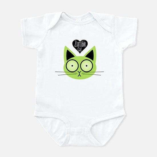 Zombie Cat Infant Bodysuit
