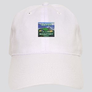 """""""Golfer Playing Accountant Today"""" Cap"""