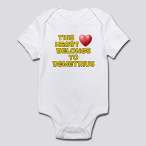 This Heart: Demetrius (D) Infant Bodysuit