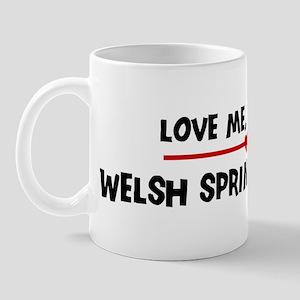 Love My Welsh Springer Spanie Mug