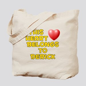 This Heart: Derick (D) Tote Bag