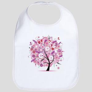 Tree of Life 22 Cotton Baby Bib