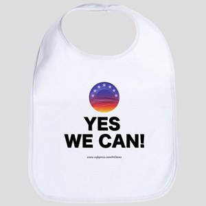 """Yes We Can!"" Bib"