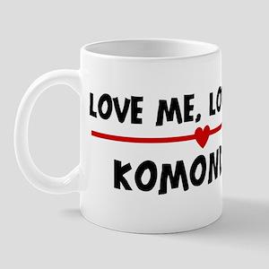 Love My Komondor Mug