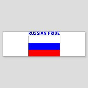 RUSSIAN PRIDE Bumper Sticker
