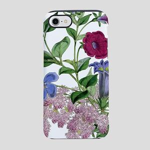 VINTAGE BOTANICAL FLOWERS iPhone 8/7 Tough Case