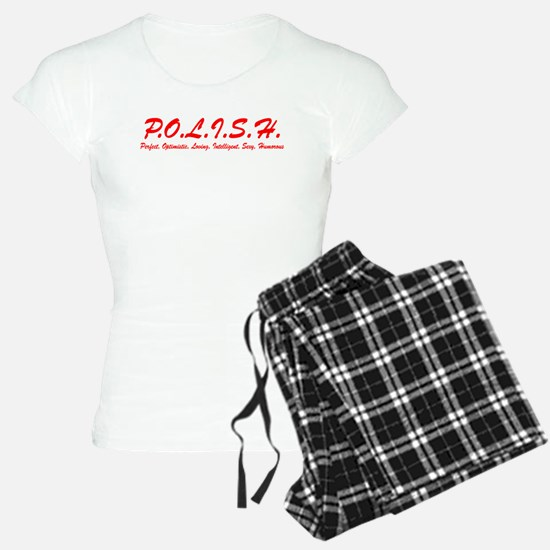 Polish Letters Pajamas