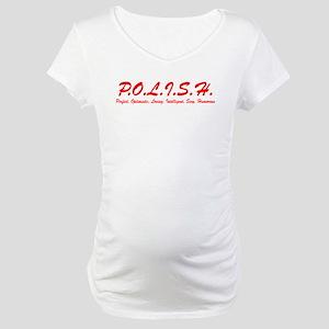 Polish Letters Maternity T-Shirt