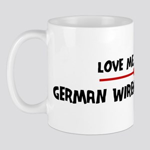 Love My German Wirehaired Poi Mug