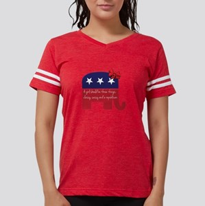 A Girl Should be Classy Sassy and Republican T-Shi
