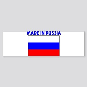 MADE IN RUSSIA Bumper Sticker